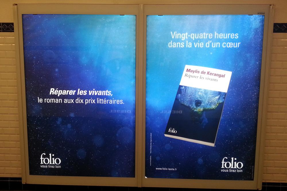 """""""Réparer les vivants"""" de Maylis de Kerangal - Editions Folio"""