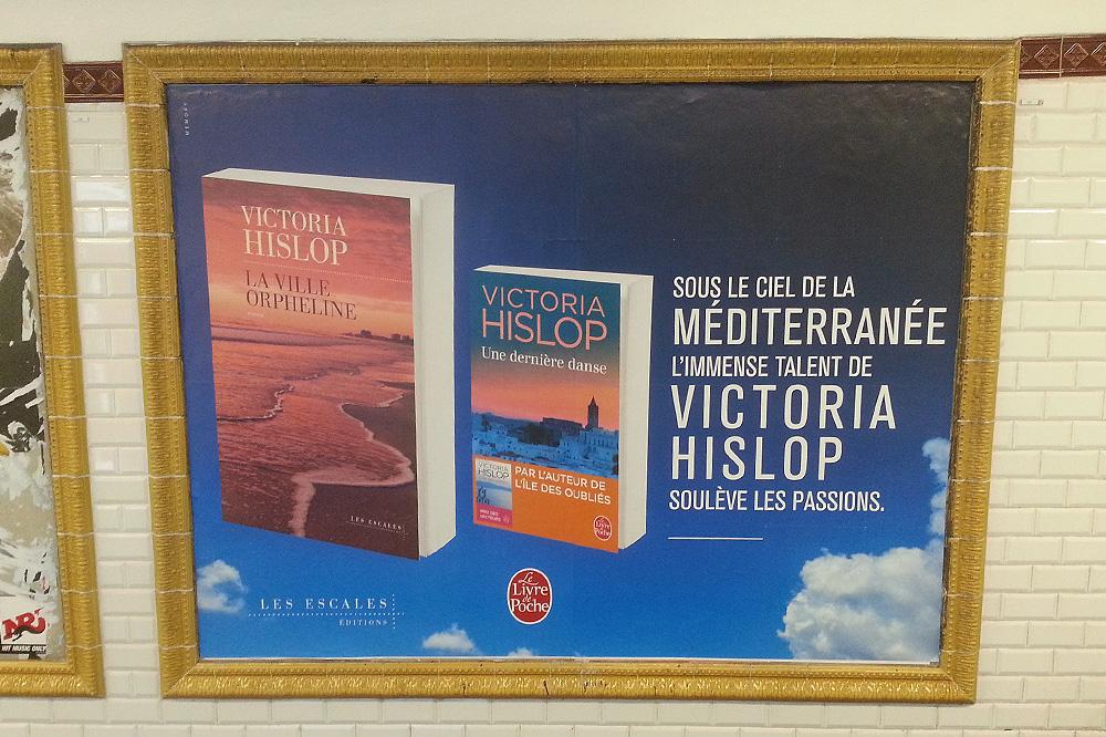 """""""La ville orpheline"""" Editions Les escales - """"Une dernière danse"""" Editions Le livre de poche de Victoria Hislop"""