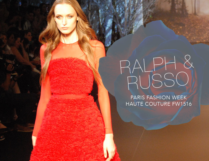 Paris Fashion Week Haute Couture FW15/16 : Ralph & Russo