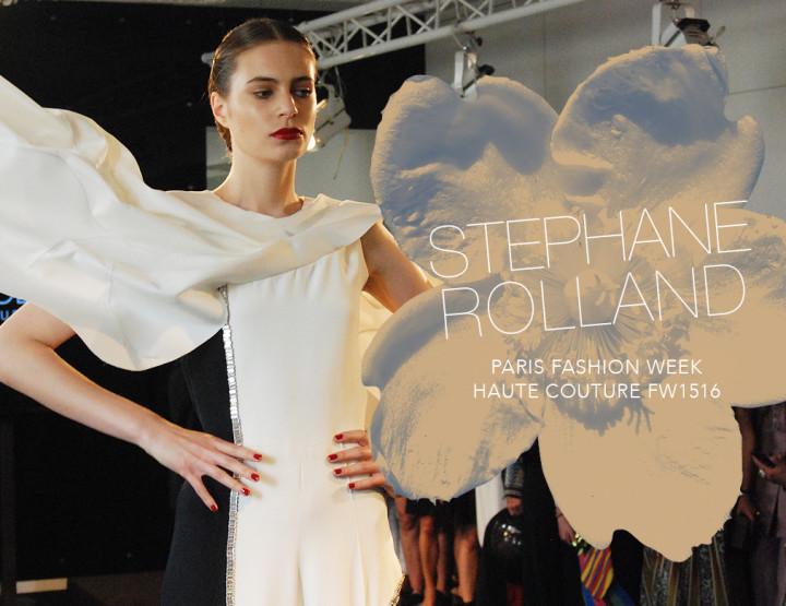Paris Fashion Week Haute Couture FW15/16 : Stéphane Rolland