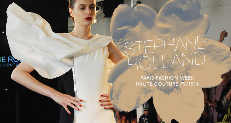Paris Fashion Week Haute Couture FW15/16 : Stéphane Rolland