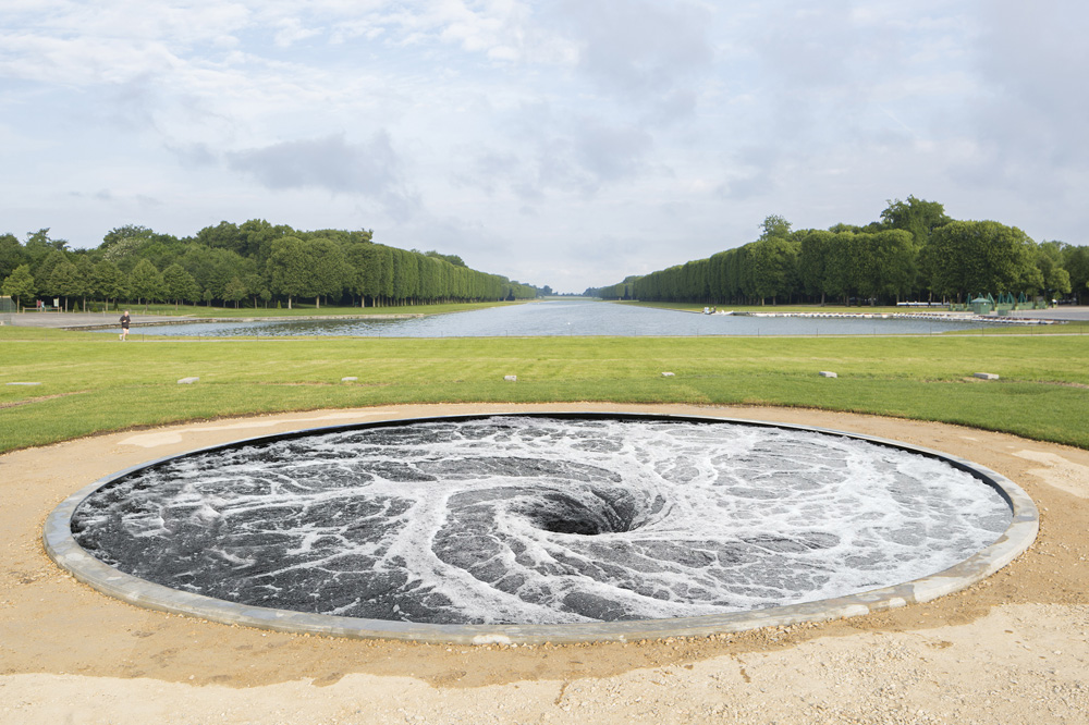 """Descension"" d'Anish Kapoor"