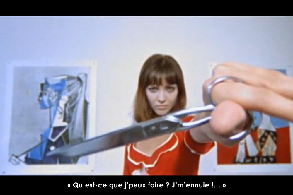 """Pierrot le fou"" de Jean-Luc Godard - 1965"