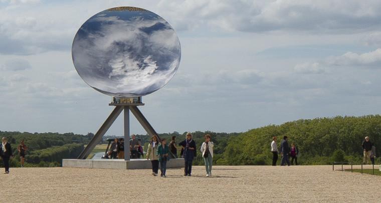 Anish Kapoor en grand à Versailles