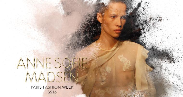 Paris Fashion Week SS16 : Anne Sofie Madsen