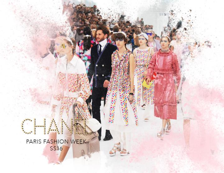 Paris Fashion Week SS16 : Chanel