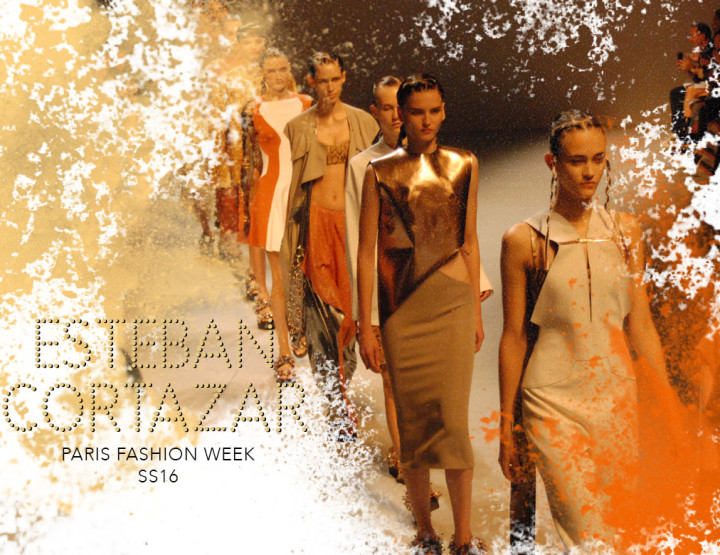 Paris Fashion Week SS16 : Esteban Cortazar