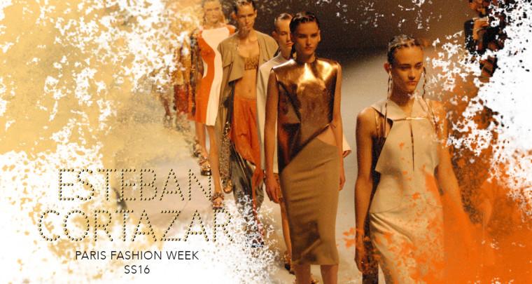 Paris Fashion Week SS16 : Esteban Cortazar
