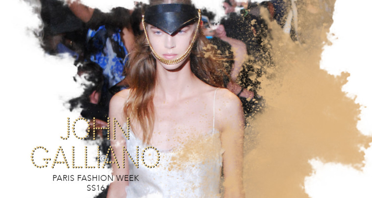 Paris Fashion Week SS16 : John Galliano
