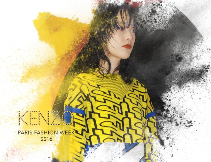 Paris Fashion Week SS16 : Kenzo