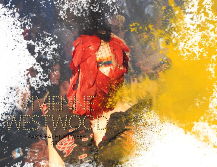 Paris Fashion Week SS16 : Vivienne Westwood