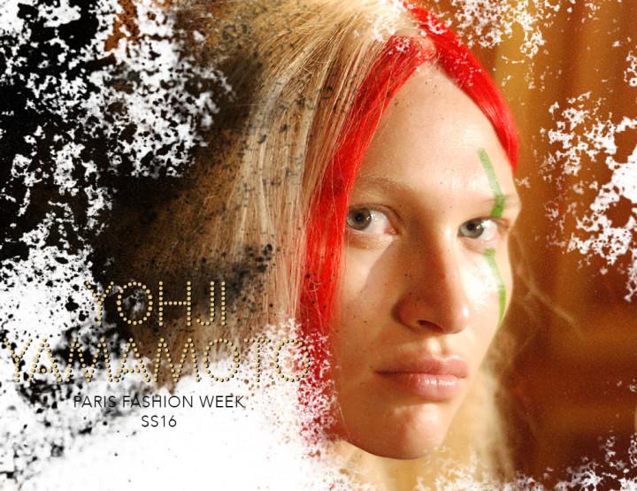 Paris Fashion Week SS16 : Yohji Yamamoto