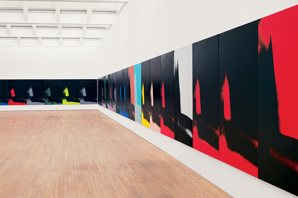 """Shadows"" d'Andy Warhol"