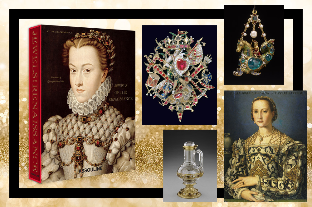 """""""Jewels of the Renaissance"""" Editions Assouline, 292 pages, 175€"""