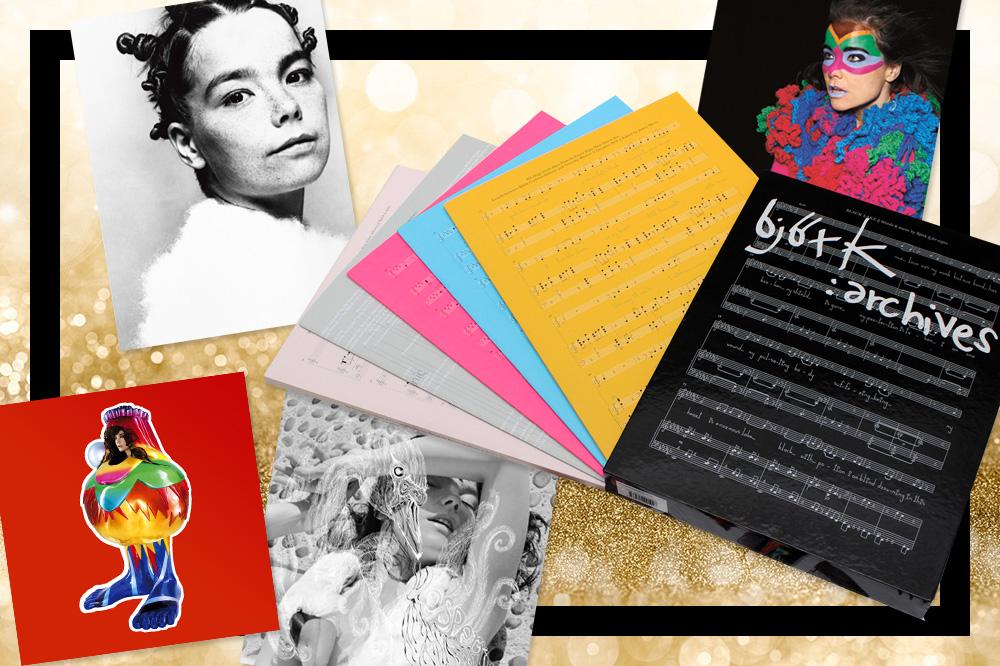"""Björk: Archives"" Coffret 5 cahiers, éditions Flammarion, 49,90€"