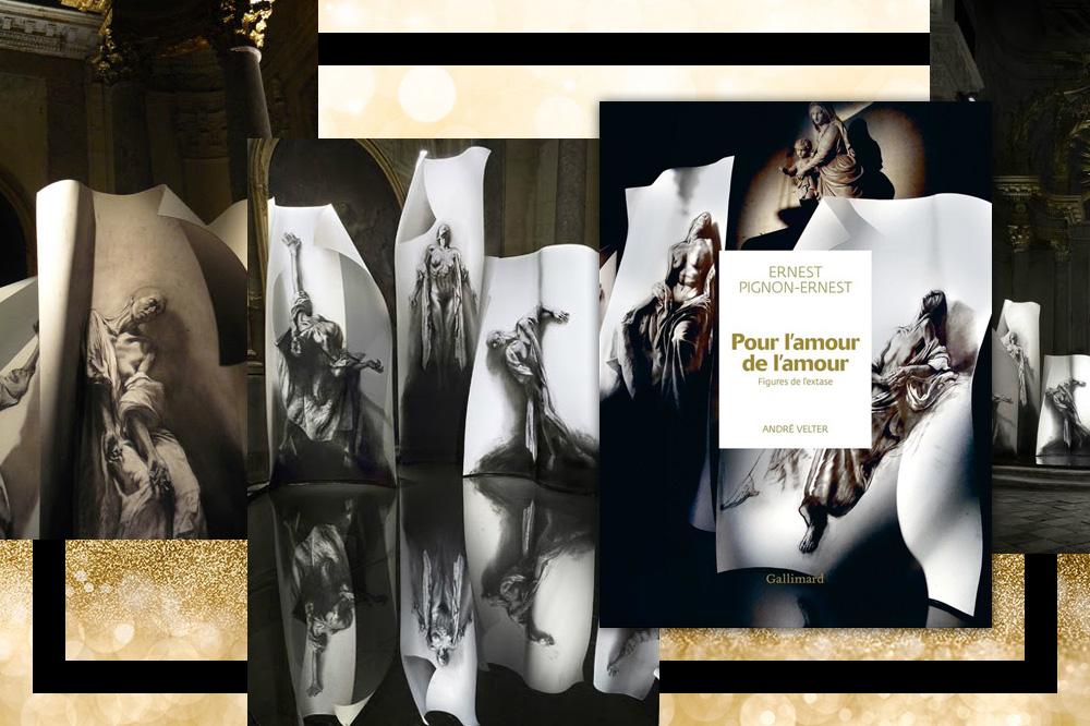 """""""Pour l'amour de l'amour. Figures de l'extase, Ernest Pignon-Ernest"""" d'André Velter, éditions Gallimard, 176 pages illustrées, 35€"""