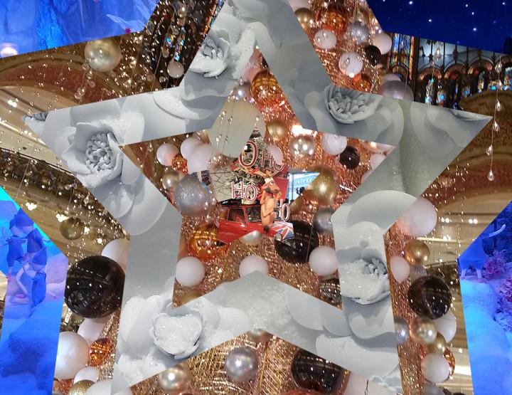 Paris est une fête : Noël aux Grands Magasins
