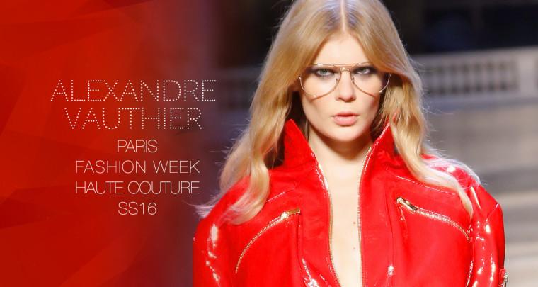Paris Fashion Week Haute Couture SS16 : Alexandre Vauthier