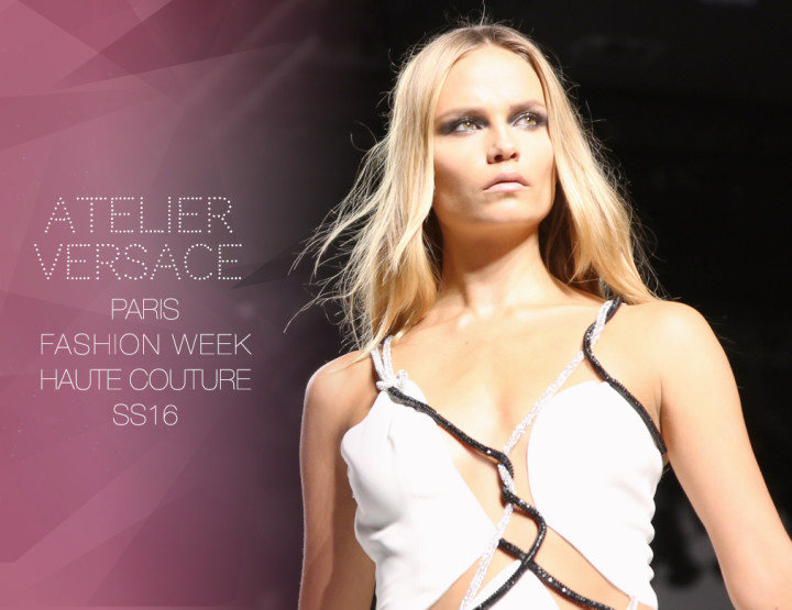 Paris Fashion Week Haute Couture SS16 : Atelier Versace
