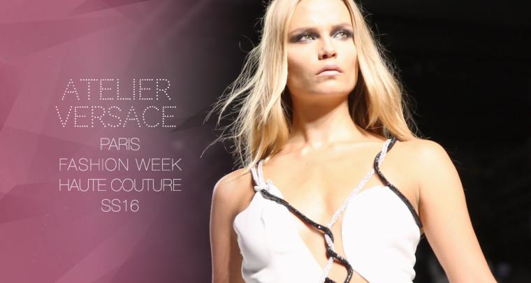 Paris Fashion Week Haute Couture SS16 : Atelier Versace