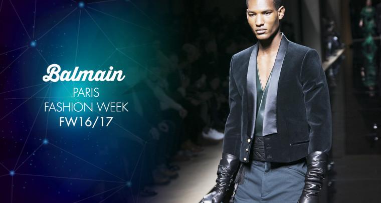 Paris Fashion Week Homme FW16/17 : Balmain