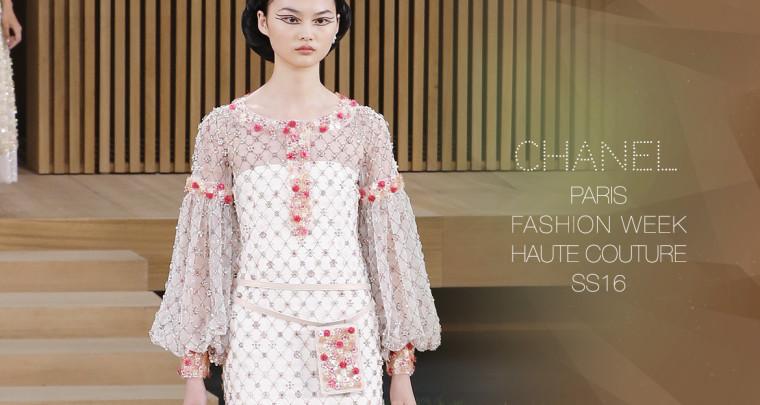 Paris Fashion Week Haute Couture SS16 : Chanel