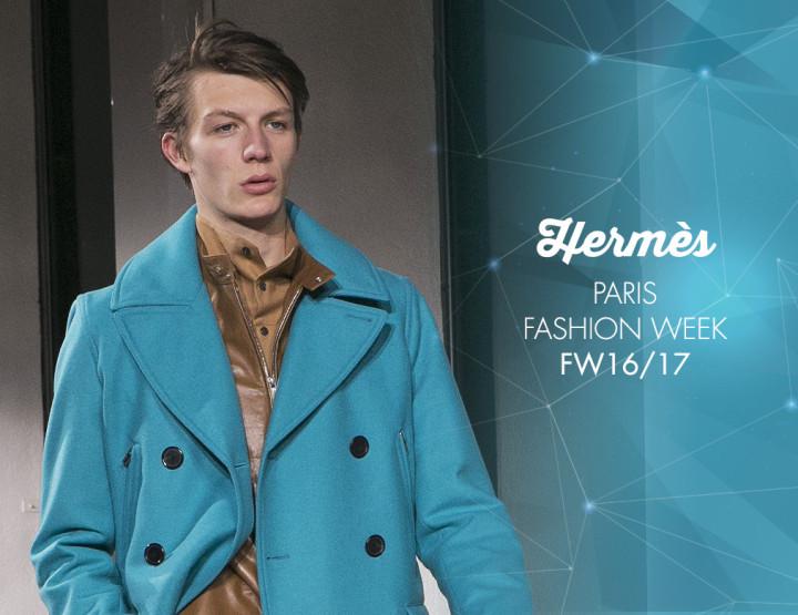 Paris Fashion Week Homme FW16/17 : Hermès