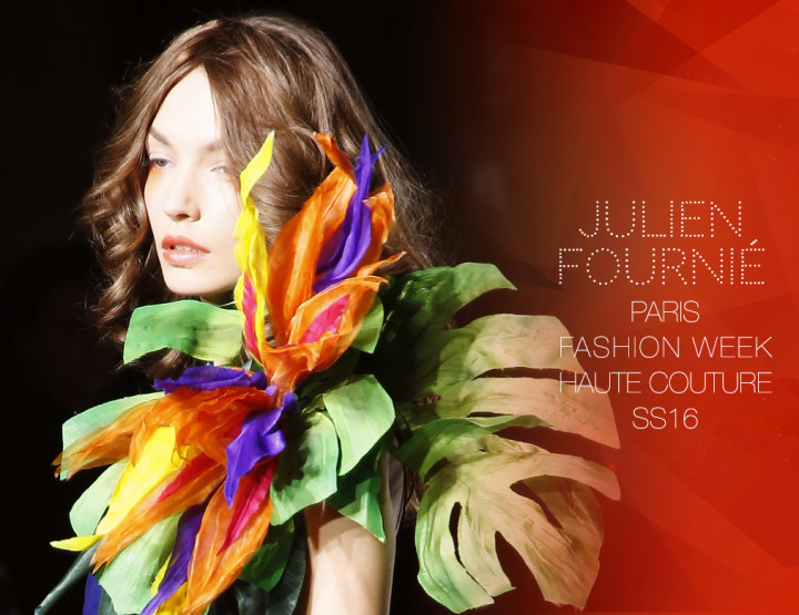 Paris Fashion Week Haute Couture SS16 : Julien Fournié