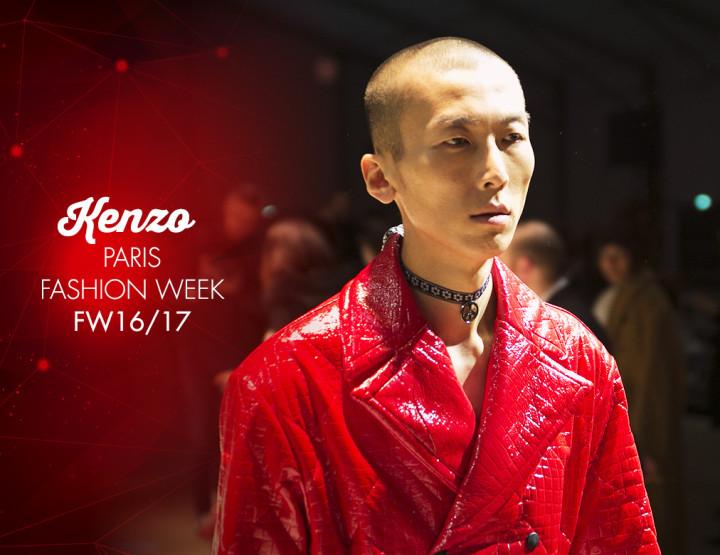 Paris Fashion Week Homme FW16/17 : Kenzo