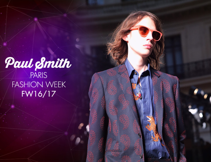 Paris Fashion Week Homme FW16/17 : Paul Smith
