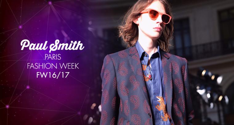 Paris Fashion Week Homme FW16/17 : Paul Smith