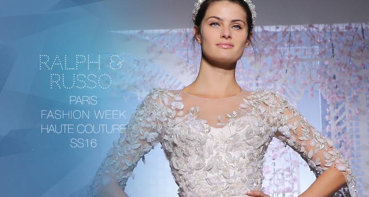Paris Fashion Week Haute Couture SS16 : Ralph & Russo