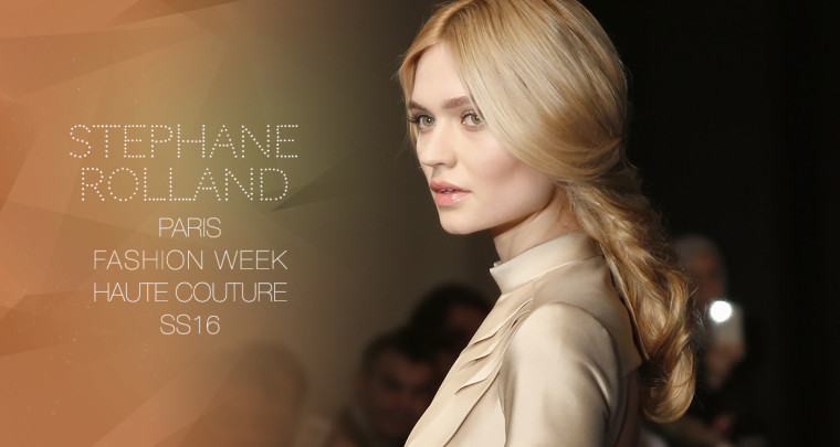 Paris Fashion Week Haute Couture SS16 : Stéphane Rolland