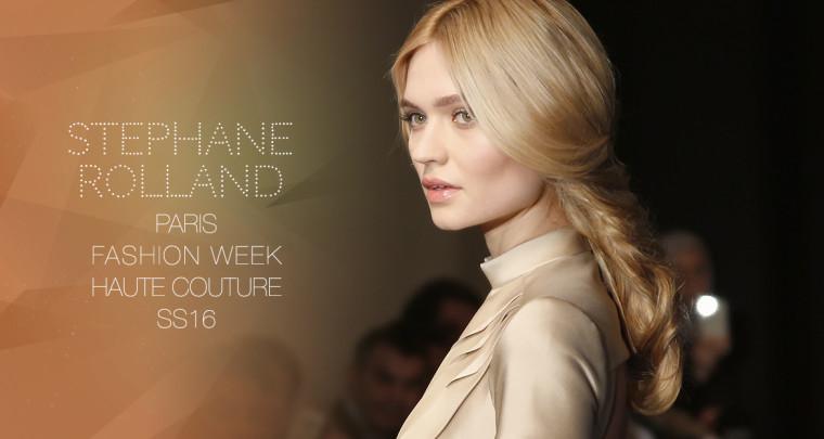 Paris Fashion Week Haute Couture SS16 : Stéphane Rolland