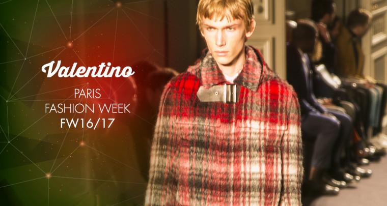 Paris Fashion Week Homme FW16/17 : Valentino