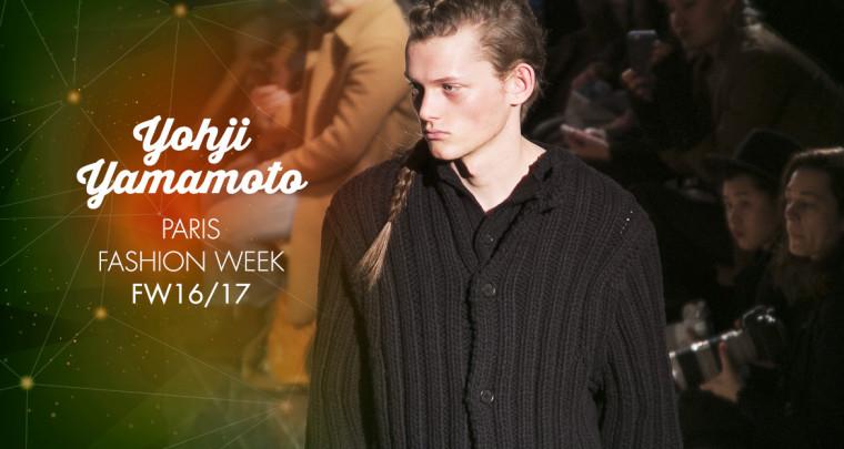 Paris Fashion Week Homme FW16/17 : Yohji Yamamoto