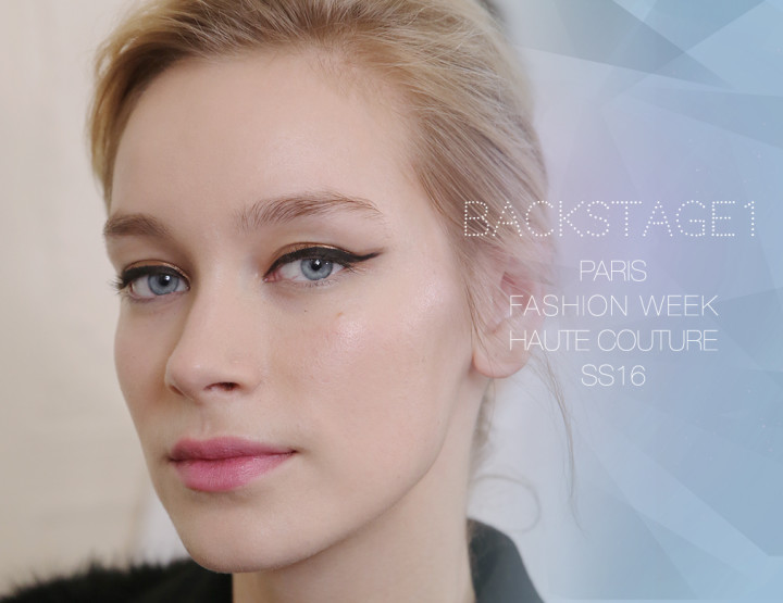 Paris Fashion Week Haute Couture SS16 : Backstage 1