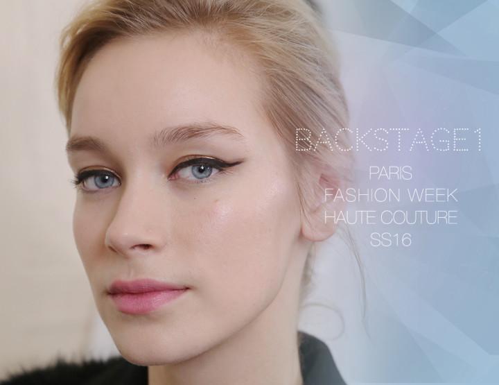 Paris Fashion Week Haute Couture SS16 : Backstage 1