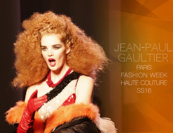 Paris Fashion Week Haute Couture SS16 : Jean-Paul Gaultier