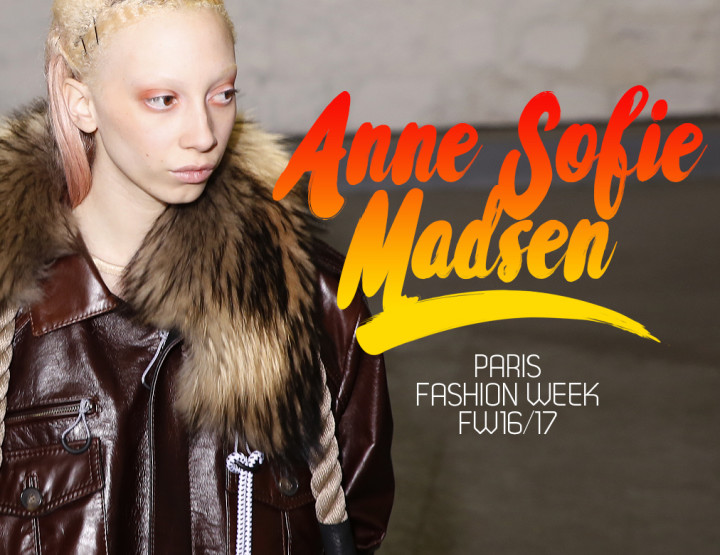 Paris Fashion Week FW16/17 : Anne Sofie Madsen