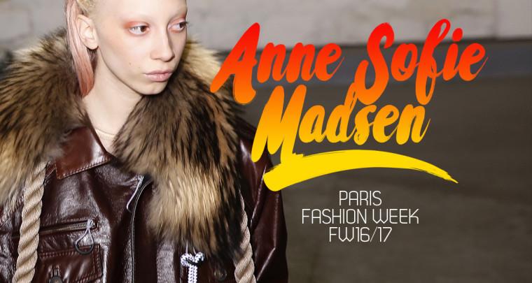 Paris Fashion Week FW16/17 : Anne Sofie Madsen