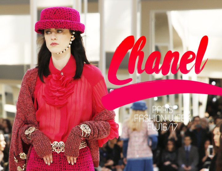 Paris Fashion Week FW16/17 : Chanel