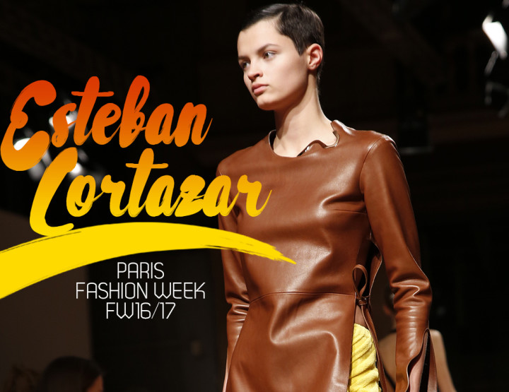 Paris Fashion Week FW16/17 : Esteban Cortazar