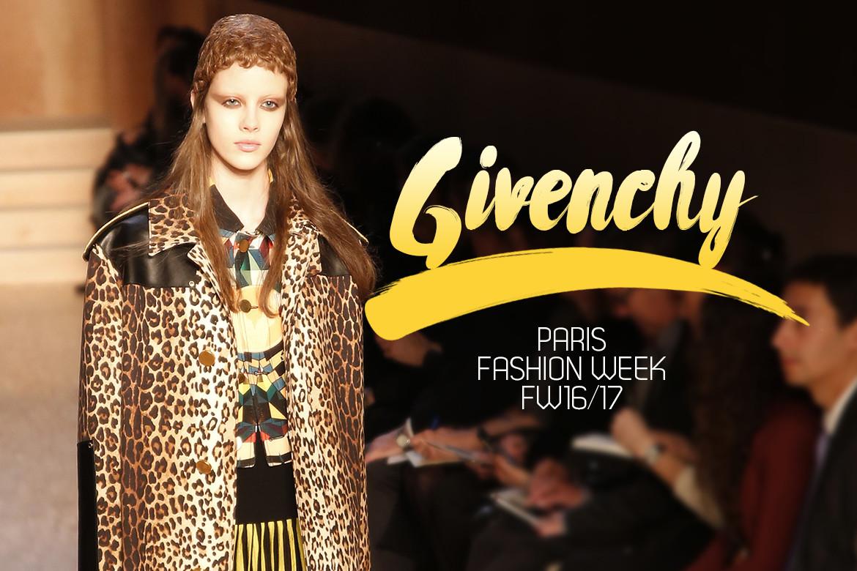 Le Mot   la Chose » La Culture autrement » Paris Fashion Week FW16 17    Givenchy e397977e8aa