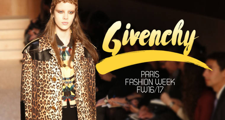 Paris Fashion Week FW16/17 : Givenchy