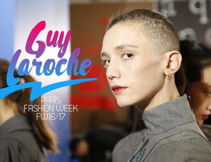 Paris Fashion Week FW16/17 : Guy Laroche