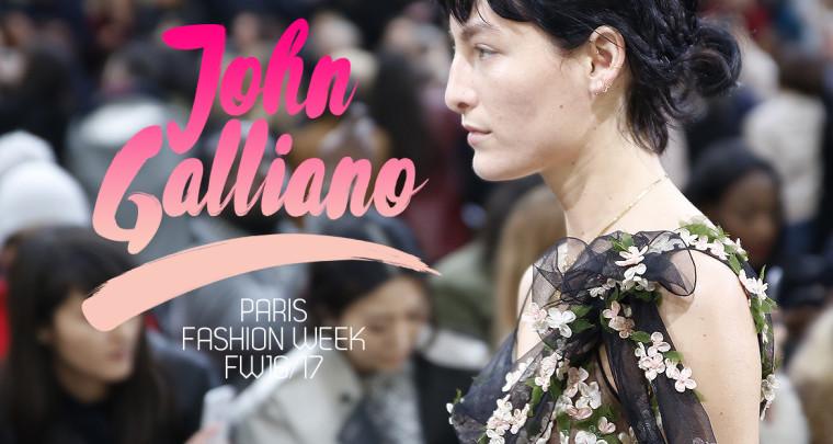 Paris Fashion Week FW16/17 : John Galliano