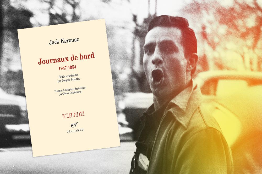 """Journaux de bord"" de Jack Kerouac, Editions Gallimard"