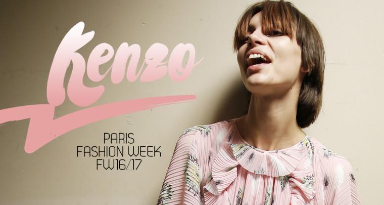 Paris Fashion Week FW16/17 : Kenzo