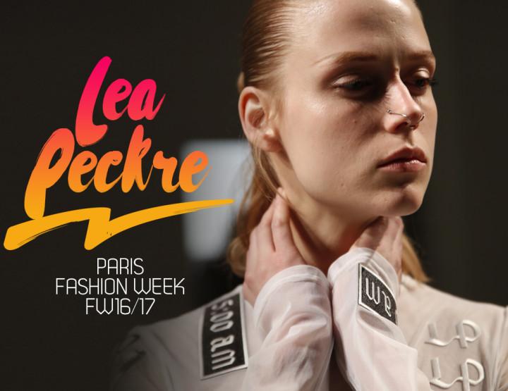 Paris Fashion Week FW16/17 : Léa Peckre
